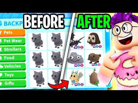 Can We Beat The 100 TRADES Challenge In Roblox ADOPT ME!? (GOT NEON DREAM PETS!!)