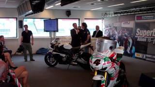 Interview Barry Veneman voor WK Superbikes 2011
