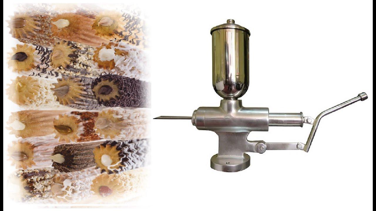 Rellenador de churros inyector de churros churros - Maquinaria para relojes de pared ...