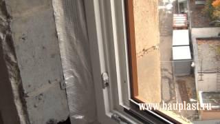 видео деревянные окна монтаж