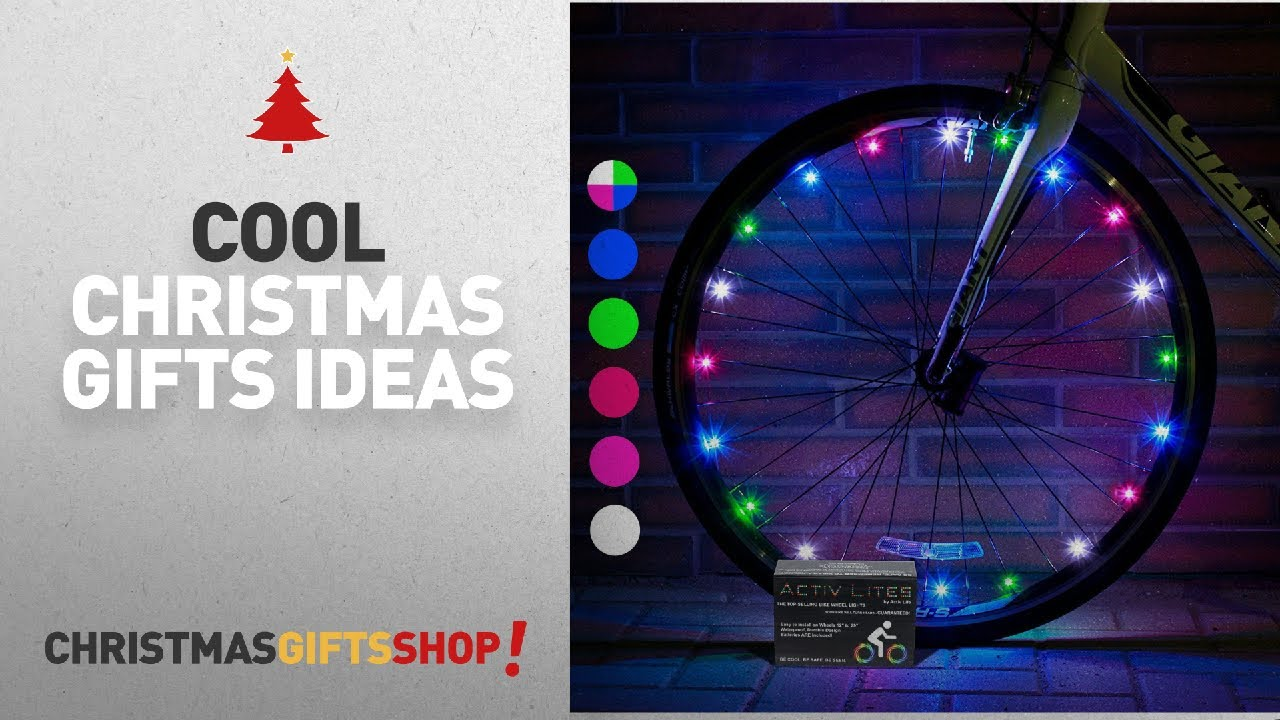 Christmas 2017 Cool Gifts Ideas: Super Cool LED Bicycle Wheel Lights ...