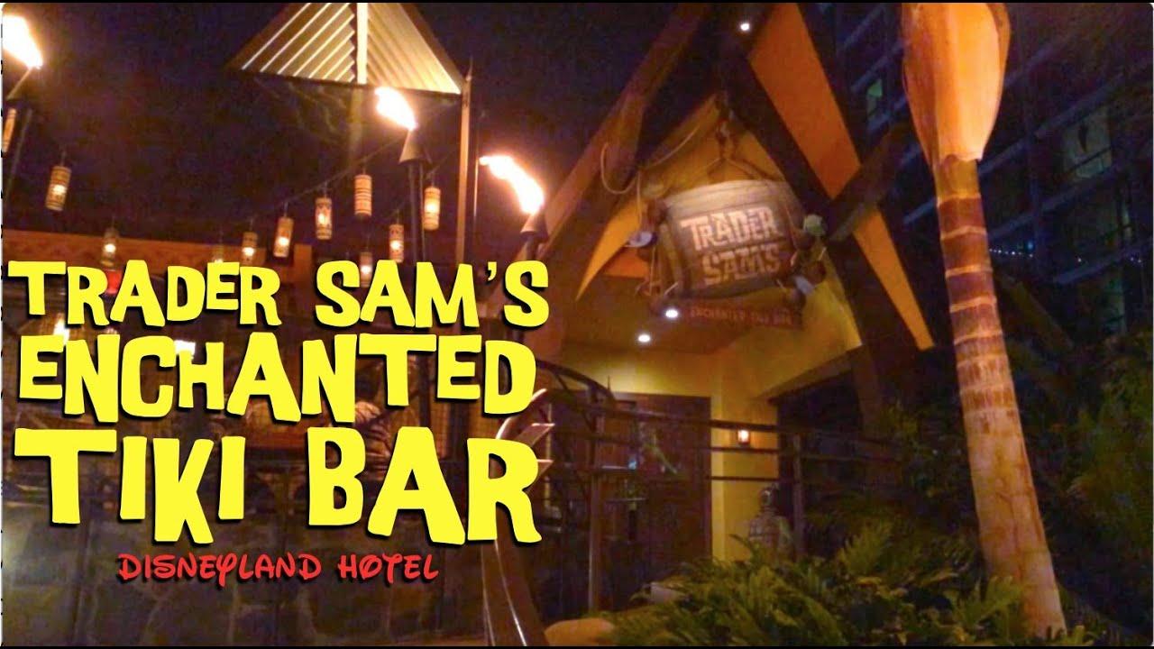 Trader Sam' Enchanted Tiki Bar Disneyland Hotel