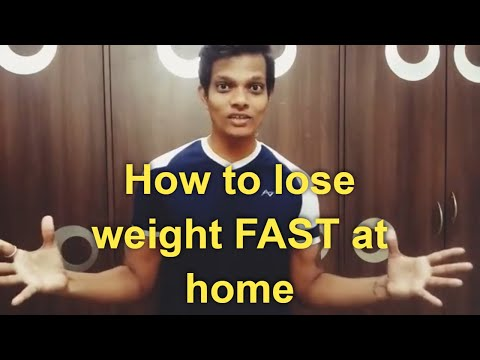 How to lose weight FAST at home,without exercise,Fitness Wala weight loss diet Advice