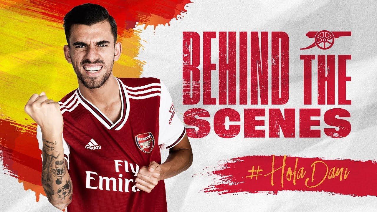 buy online f49fa 4d434 Dani Ceballos' signing day   Behind the scenes