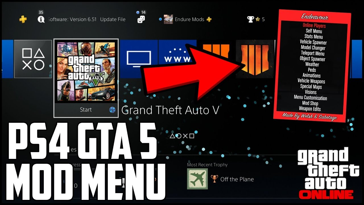 GTA 5: How To Install Mod Menu On PS4! (Works On All Consoles!) | NEW 2019!