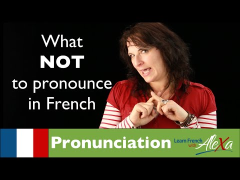What Not To Ounce In French Learn French With Alexa
