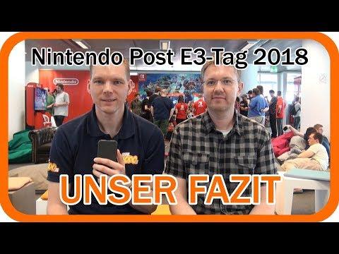 Nintendo E3 2018 | Fazit zum Post E3 Tag in Frankfurt