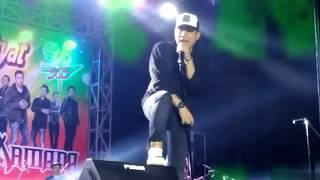 Pesan Rizal Armada untuk Fansnya mengenai sosmed di Bengkalis pada Konsernya