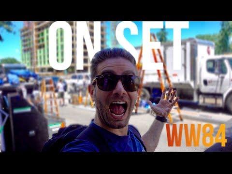 STALKING GAL GADOT! On set of WW84 (Wonder Woman 2)