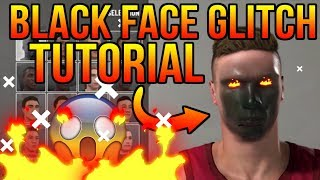BLACK FACE GLITCH TUTORIAL IN NBA 2K19! PS4/XB1