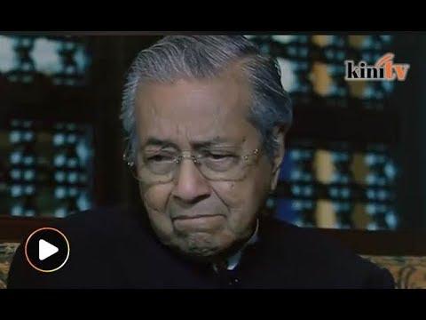 Dr M menangis, 'atuk dah tua...'