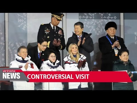 North Korean delegation attends Olympic closing ceremony