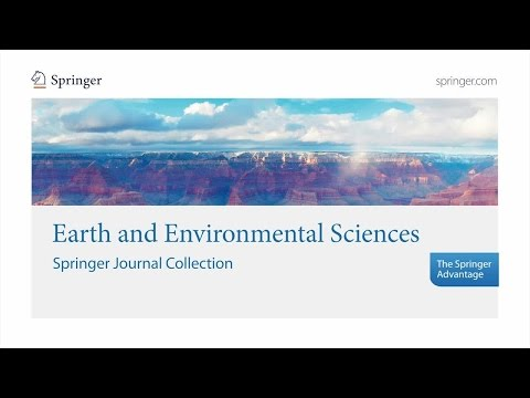 Earth and Environmental Sciences – Springer Journal Collection