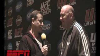 UFC 108: DANA WHITE w/Cofield from ESPNRadio1100 talks about lowering PPV prices and injures