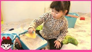 [라임의 도전! 거대비눗방울 만들기] 애플키즈카페 어린이 놀이터 장난감 놀이 겨울왕국 엘사 음료수 먹방Indoor Playground Family Fun for Kids 라임튜브