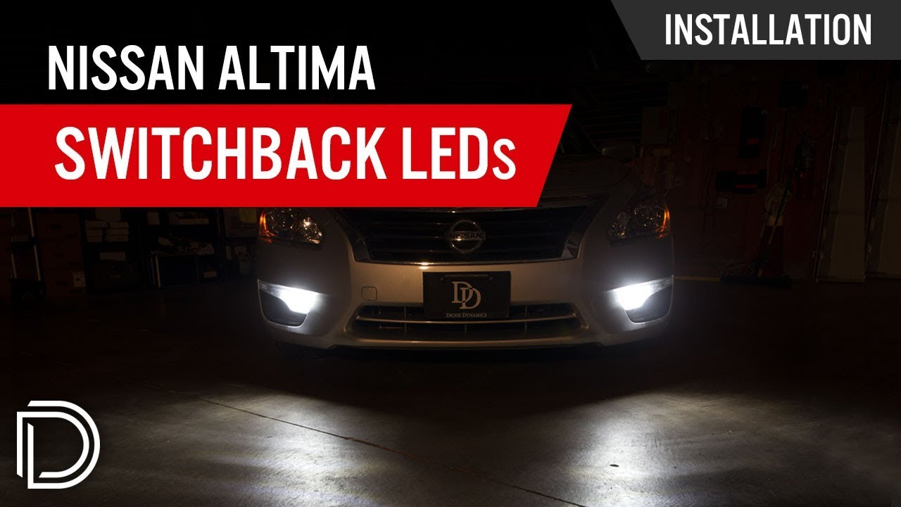 How To Install Nissan Altima Front Turn Signal Switchback Leds Youtube The Rt Side Does Not Work With Or Out Running Lights On