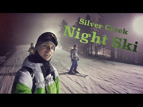 GoPro Night Skiing - Silver Creek