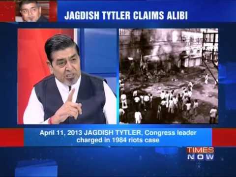 Direct fight: Jagdish Tytler V/S Witness