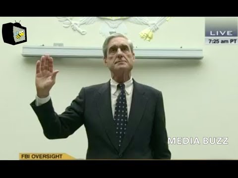 Robert Mueller is Sworn In and Gives Opening Statement During Last House Oversight Hearing