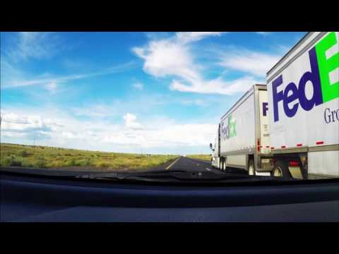 Driving from Phoenix Arizona to Albuquerque New Mexico in under 7 minutes