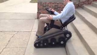 Stair Climbing Power Chair-First Try