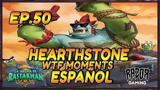MEJORES MOMENTOS HEARTHSTONE ESPAÑOL 50 | 1ºANIVERSARIO