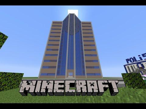 Minecraft: Gökdelen Yapımı