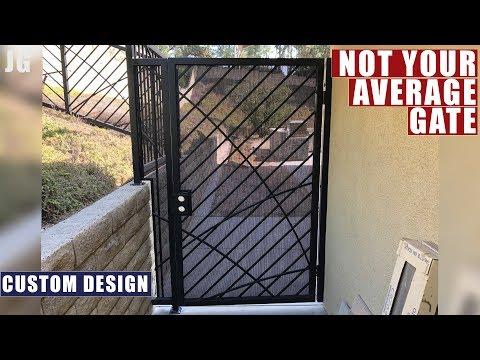 Custom Designed Metal Gate Build | JIMBO'S GARAGE