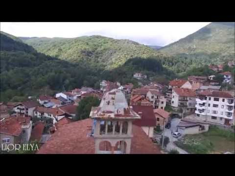 Macedonia drone photo Struga and villages,dji ,מקדוניה צילום רחפן, סטרוגה וכפרים