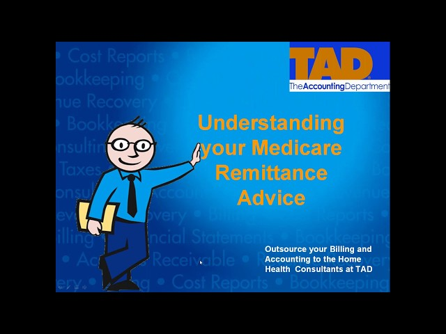 Understanding your Medicare Remittance Advice