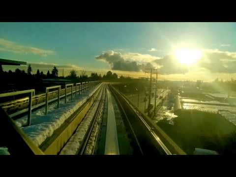 Vancouver Skytrain: Lafarge-Lake Douglas to Commercial Broad