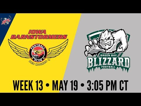 IFL Week 13 | Iowa Barnstormers at Green Bay Blizzard