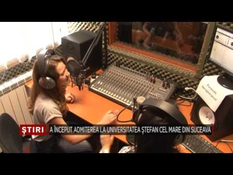 04   A inceput admiterea la Universitatea Stefan cel Mare din Suceava Bucovina TV ro