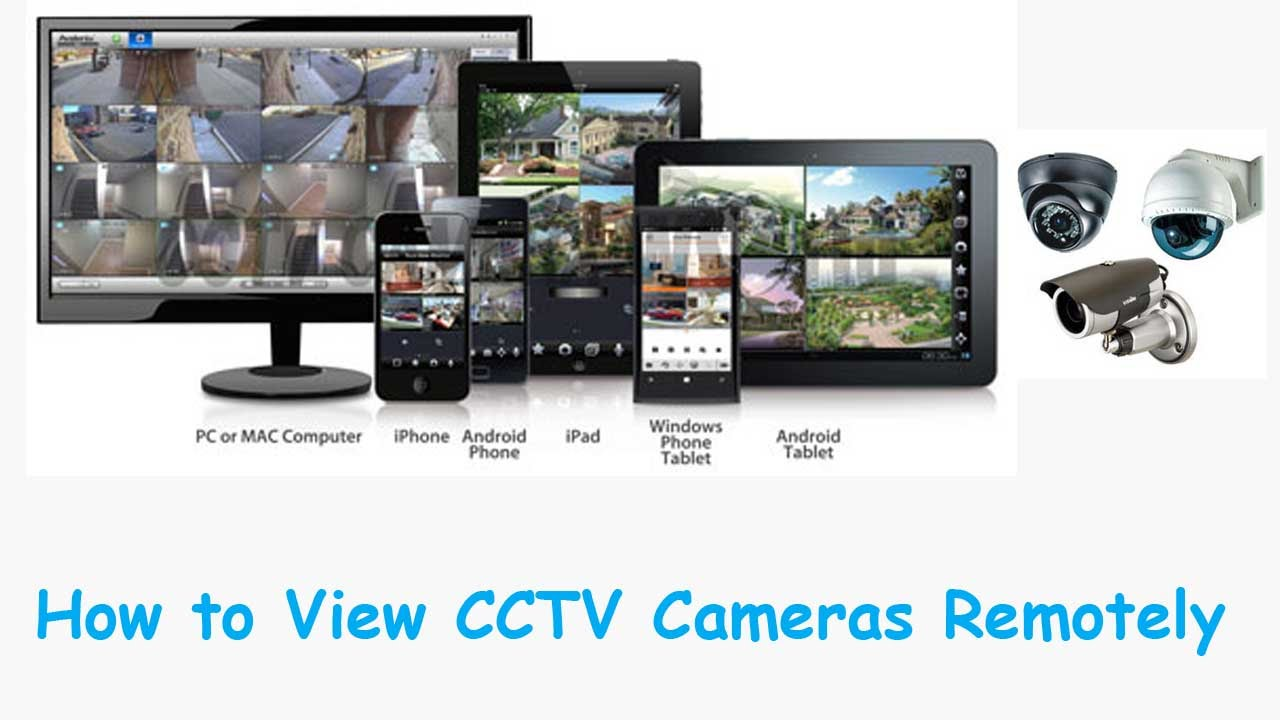 Cctv Home How To Connect Dvr Via Internet To Watch Cctv Cameras From A Remote Place