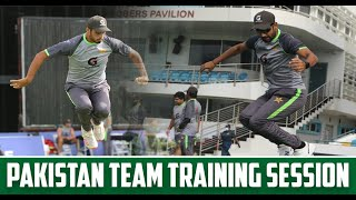 Highlights of Pakistan team training and practice session at the Bridgetown in Barbados