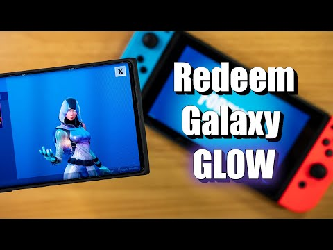 How To Redeem The Fortnite Galaxy GLOW Skin