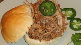 Easy Delicious Vietnamese Pulled Pork Sandwich