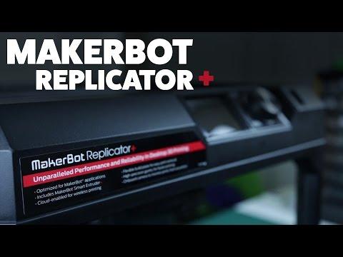 MakerBot Replicator + plus - 3D Printer /Review