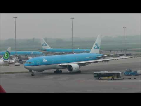 Planes at Amsterdam Schiphol Airport (AMS) 01/04/2017