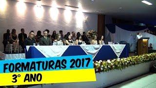 FORMATURAS DO COLÉGIO DE APLICAÇÃO 3º ANO