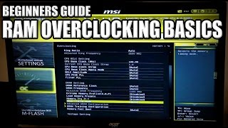 How to set your memory speed and XMP Profile - Memory Overclocking Basics