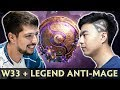 W33 With LEGEND Anti Mage Burning In TI9 Ranked Pubs mp3