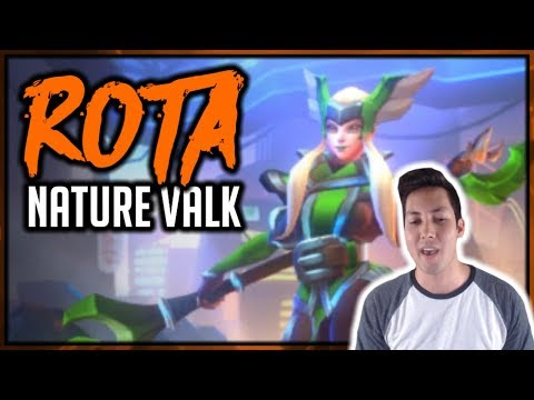HOW TO BUILD ROTA (Nature Valkyrie) | Dungeon Hunter Champions