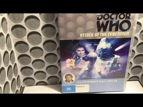 Dr who DVD review attack of the cybermen