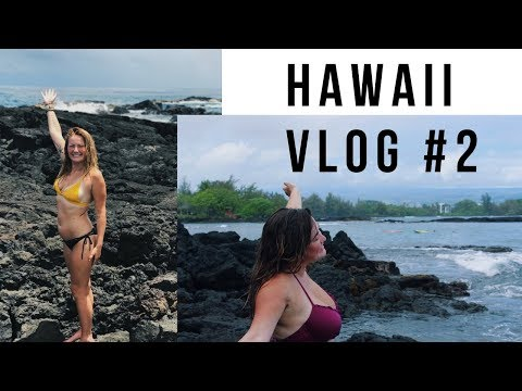 BEACH DAY TURNS INTO TROPICAL THUNDER STORM!?   ADVENTURES WITH SOPH HAWAII VLOG #2