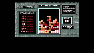 Tetris (NES) Live Stream 1