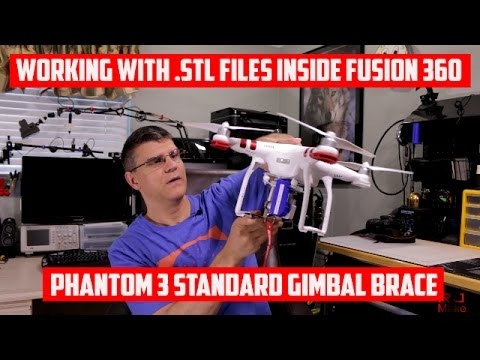 How to manipulate STL files in Fusion 360