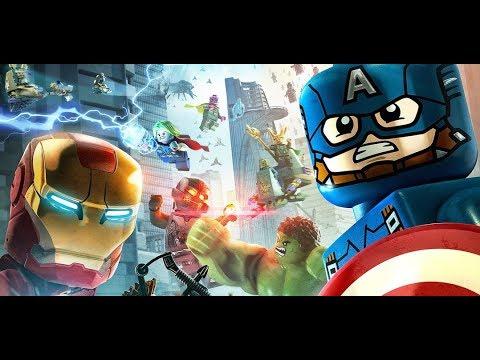 LEGO® MARVEL Super Heroes. Прохождение - Эпизод 2. КЭП на страже!  Папа в ШОКЕ!