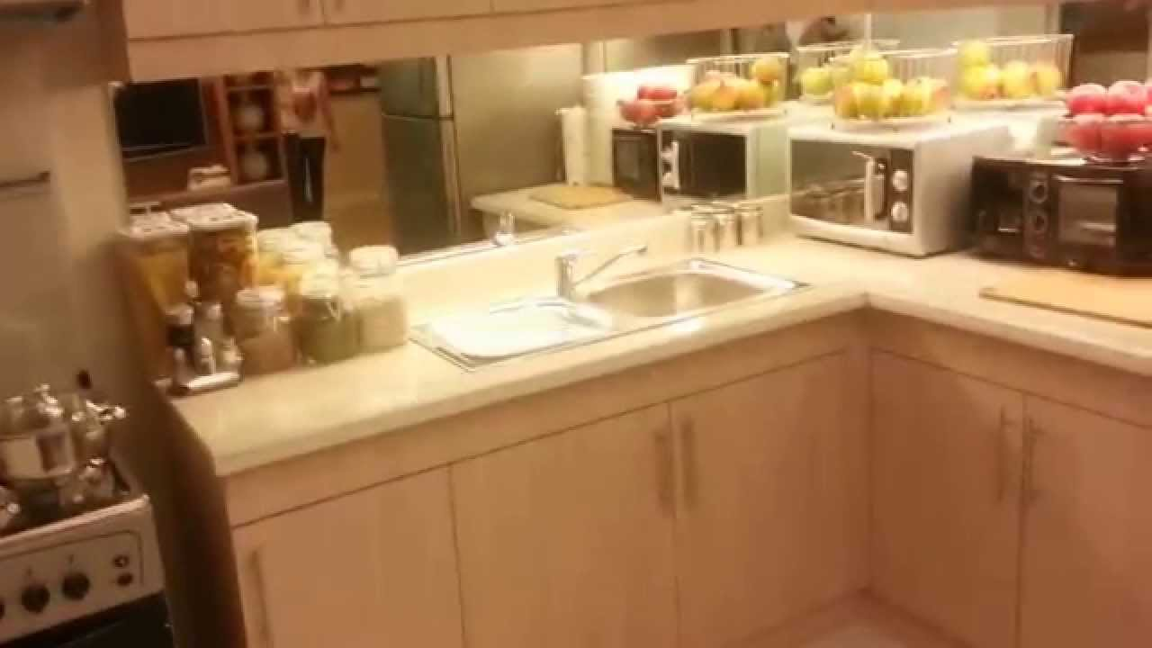 model homes kitchen pictures white cast iron sink asteria residence 2 bedroom unit by dmci ...