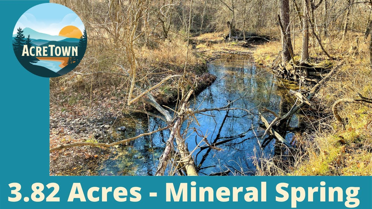 3.82 Acres next to Natural Mineral Spring - Steeped in History [ Missouri Land For Sale ]